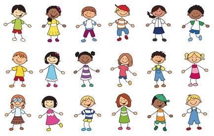 Kinder aus verschiedenen Lndern